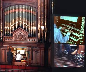 image of Keith Hearnshaw, organist